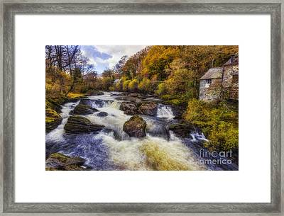 Down By The River Framed Print by Ian Mitchell