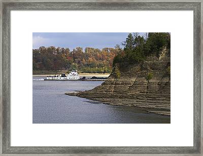 Down By The River Framed Print by Jane Eleanor Nicholas