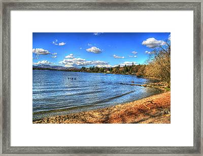 Framed Print featuring the photograph Down By The Riverside by Doc Braham