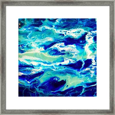 Down By The Seaside 1 Framed Print