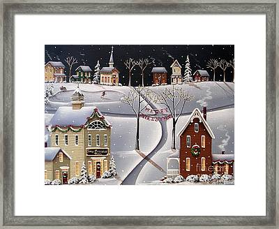 Down Home Christmas Framed Print by Catherine Holman