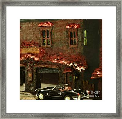 Down In The Alley Framed Print
