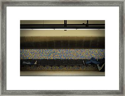 Down On Luck Framed Print by Eric Soucy