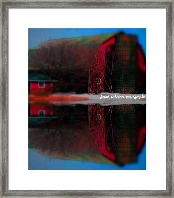 Down On The Farm Framed Print by Frank Sciberras