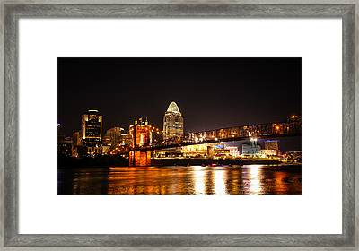 Down River Framed Print by Cathy Donohoue
