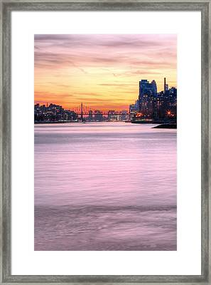 Down River II Framed Print by JC Findley