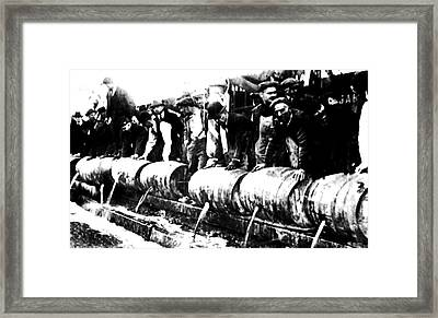 Down The Drain Framed Print by Bill Cannon