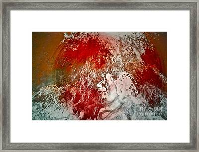 Down The Drain Framed Print by Gwyn Newcombe