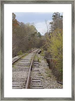 Down The Line Framed Print by MM Anderson