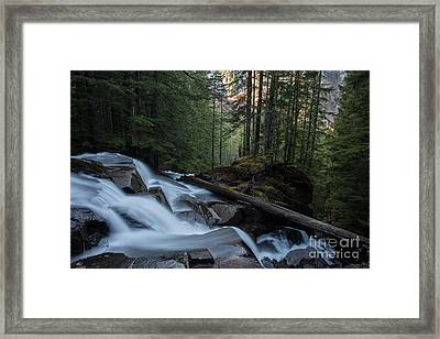 Down The Mountain Framed Print by Mike Reid
