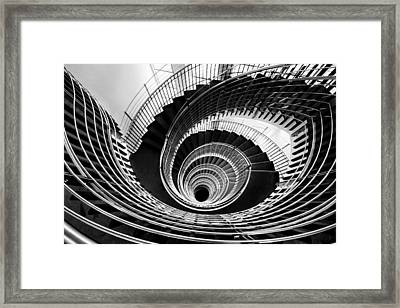 Down The Rabbit Hole Framed Print