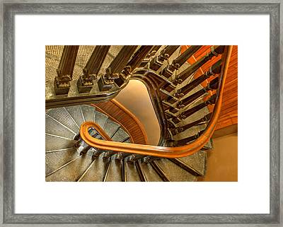 Down The Side Framed Print by Nikolyn McDonald