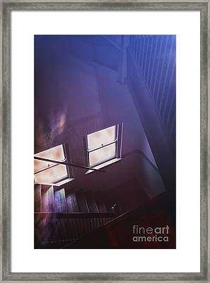 Down The Stairs Framed Print by Margie Hurwich