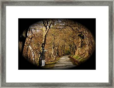 Framed Print featuring the photograph Down There by Christopher Rowlands