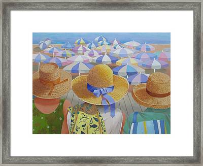 Down Time Framed Print by Tony Caviston