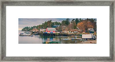 Downeast Framed Print by Guy Whiteley
