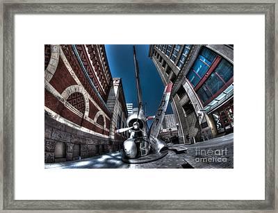 Downed Plane Framed Print by Mark Ayzenberg