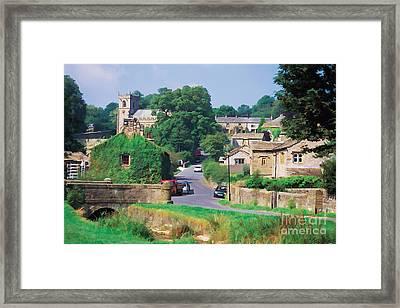 Downham In Lancashire Framed Print