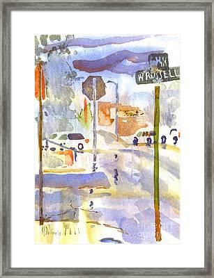 Downpour Framed Print by Kip DeVore