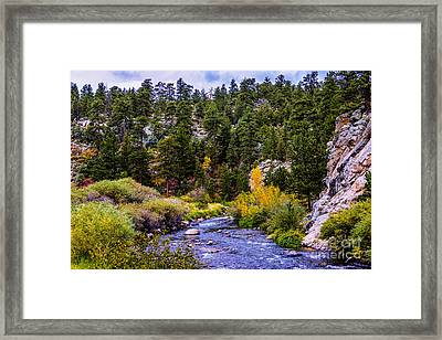 Downstream Framed Print by Jon Burch Photography