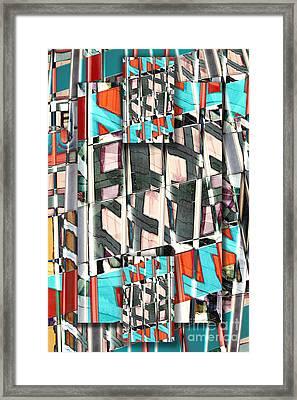 Downtown 2 Framed Print by Elena Nosyreva