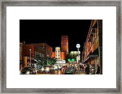 Downtown Ann Arbor Framed Print