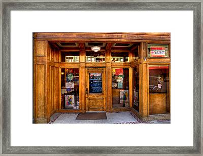 Downtown Athletic Club - Prescott Arizona Framed Print by David Patterson