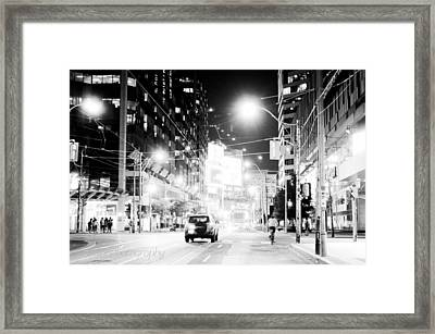 Downtown Framed Print by BandC  Photography