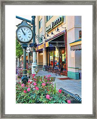 Downtown Bowling Green Framed Print