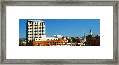 Downtown Buildings, Chattanooga Framed Print by Panoramic Images