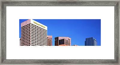 Downtown Buildings Of Phoenix, Maricopa Framed Print
