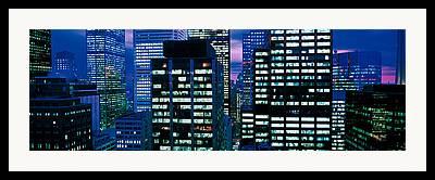 Commercial Real Estate Framed Prints