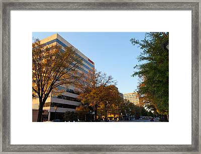Downtown Chattanooga Framed Print by Melinda Fawver