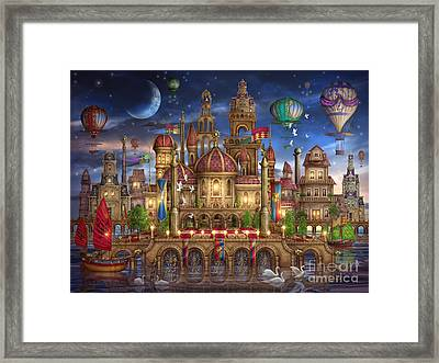 Downtown Framed Print by Ciro Marchetti