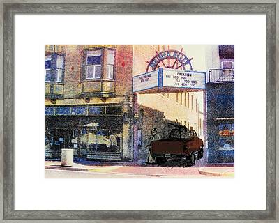 Downtown Framed Print by David Honaker