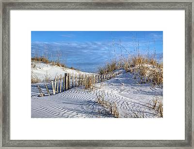 Downtown Destin Framed Print by JC Findley