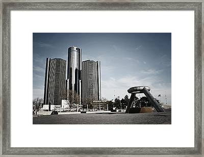 Downtown Detroit Framed Print