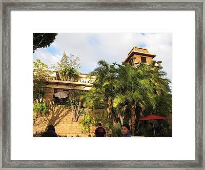 Downtown Disney Anaheim - 12121 Framed Print