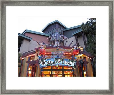 Downtown Disney Anaheim - 121210 Framed Print