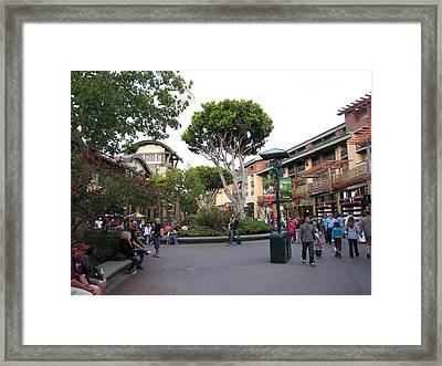 Downtown Disney Anaheim - 12128 Framed Print by DC Photographer