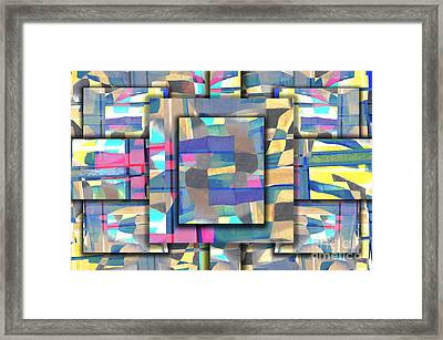 Downtown Framed Print by Elena Nosyreva