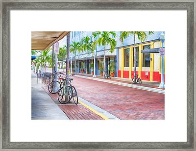 Downtown Fort Myers - Florida Framed Print