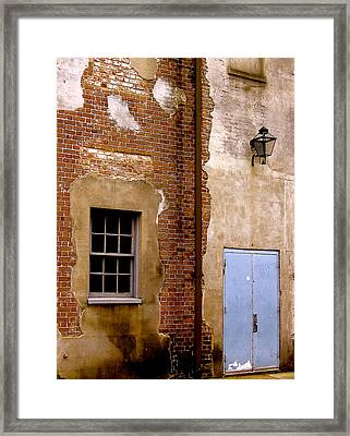 Framed Print featuring the photograph Downtown Gateway by Paul Foutz
