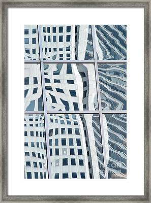 Downtown Houston 49h Framed Print by Thomas Carroll