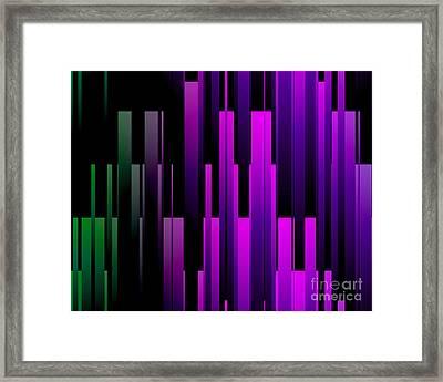 Downtown Framed Print by Kristi Kruse