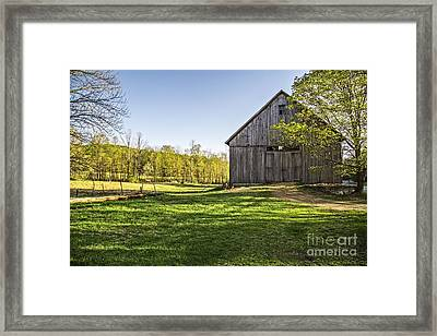 Downtown Metropolitan Etna Nh Framed Print