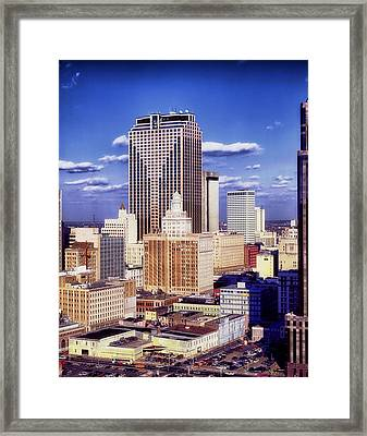 Downtown New Orleans Framed Print by Mountain Dreams