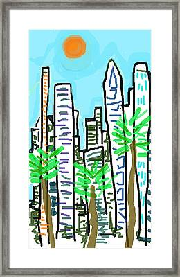 Downtown Framed Print by Paul Sutcliffe