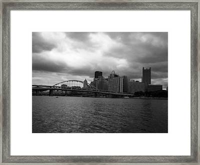 Downtown Pittsburgh Framed Print