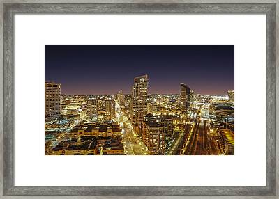 Downtown San Diego Framed Print